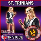 FANCY DRESS COSTUME ~ LADIES ST TRINIANS CLASSIC SM 8-10